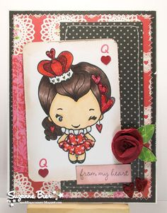 Splendid Stamping with The Greeting Farm: April Preview~~QUEEN BEAN!!
