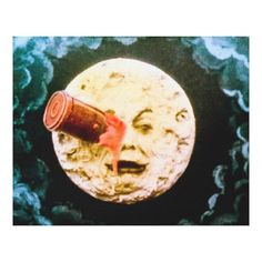 Customizable #A#Trip#The#Moon #Astronauts #Cinema #Jules#Verne #Man#In#The#Moon #Moon #Science#Fiction #Space #Spaceship #Vintage A Trip to the Moon Canvas Print available WorldWide on http://bit.ly/2hBZmGM