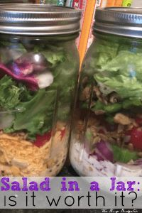 What's the deal with Salad in a Jar? Does it really last all week? Doesn't it get soggy? Are they easy to prep? Are they worth it? Find out here!