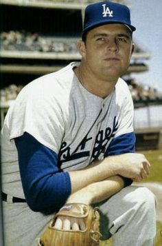 Don Drysdale (1936 - 1993)Hall of Fame Major League Baseball Player. Cy Young award winning pitcher who played out his career with both the Brooklyn and Los Angeles Dodgers, inducted into Hall of Fame in 1984.