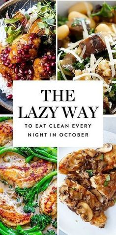 Looking for the lazy way to eat clean? Try PureWow's clean-eating meal plan, packed with easy, healthy and (most importantly) tasty dinner recipes for every night in October. #eatclean #cleaneating #cleaneatingrecipes #healthyrecipes #dinnerrecipes #easyrecipes #recipes