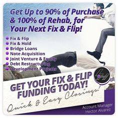 Get a Hard Money Loan at 90% LTV of Purchase 100% Rehab and 11% Rates! Take Advantage of this FREE Consultation and Speak to a Pro about your Next Fix and Flip! Buy Properties at Discounted Prices! Make REAL Money!  Call Today for a FREE Consultation! (908) 312-1456 Visit http://ift.tt/1Yam6MX and learn how to become a Real Estate Investor.  #RealEstate #Realtor #newlisting #hardmoneyloans #hardmoney #fliphouses #wholesale #wesellhouses #commercialrealestate #investing #offmarket #reo…