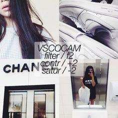 black and white instagram feed VSCO filter F2