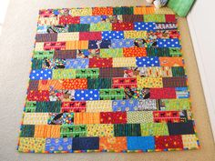Baby boy quilt by Mimi.K