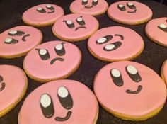 If you are planning on having a Nintendo Kirby party, you can't do that without first making some of these tasty Kirby party food recipes. Birthday Pinata, Birthday Parties, Birthday Ideas, Birthday Boys, Nintendo Party, Logo Cookies, Video Game Party, Mario Party, Throw A Party
