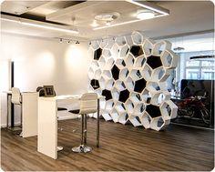 BUILD partition by Movisi @Monolicht. Office design in Switzerland.