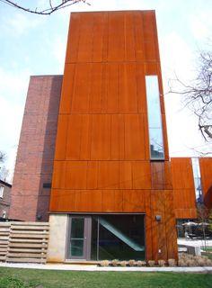 Corten Steel at Max Gluskin House, Toronto