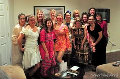 An ugly dress party would be fun! OMG Im so in!