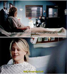 #Damon: Chiaramente non hai idea di quante donne morirebbero pur di passare la notte con me. #Liz: Bhe...non sono ancora morta. #TVD