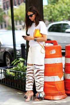 Street Style: Tap Into The Tassel Trend