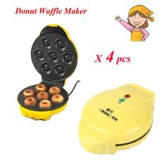 114.25$  Buy now - http://aliypl.shopchina.info/go.php?t=32671944647 - 4pcs/lot Two-side Heating Full Automatic Electric Donut Maker Egg Cake Maker Ball Mould Machine FS-508N 114.25$ #magazineonlinewebsite