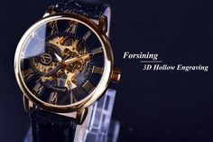 Forsining Luxurious 3D Design Hollow Engraving Leather Men Mechanical Watch //Price: $31.97 & FREE Shipping //     #love #instagood #me #cute #tbt #photooftheday #instamood #iphonesia #tweegram #picoftheday #igers #girl #beautiful #instadaily #summer #instagramhub #iphoneonly #follow #igdaily #bestoftheday #happy #picstitch #tagblender #jj #sky #nofilter #fashion #followme #fun #sun #SuperBowl #Phone iHeartAwards #Nice #photo