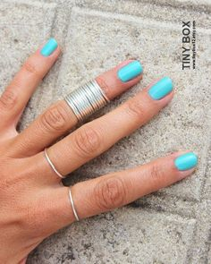 14 Thin Stacking Rings - Knuckle Rings - Thin Knuckle Rings - Silver  Thin Rings - Above Knuckle Ring -  Stack Midi Rings Set Of 14 - Beautiful Ring Photo