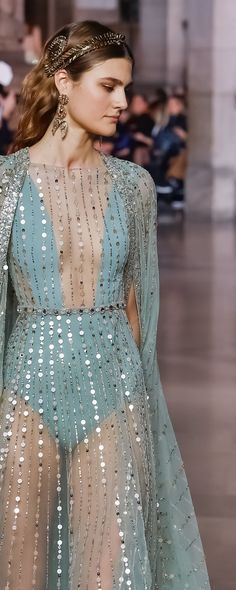 Georges Hobeika S/S 2018, Details - Couture - http://www.orientpalms.com/Georges-Hobeika-7064