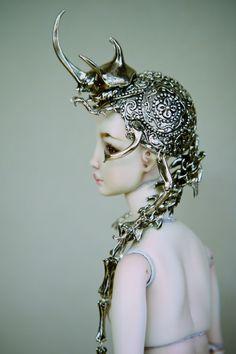 hybrid beetle crown - marina bychkova [enchanted doll]