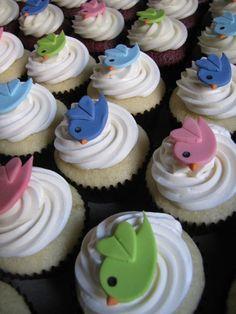 twitter cupcakes! :D