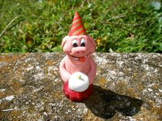 Happy Birthday Pig Cake Topper Party Animal by moonknightjewels
