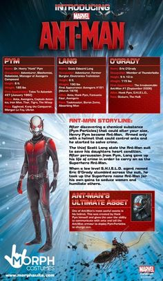 New Age Mama: Morph Costumes Gives You an Inside Look at Ant-Man