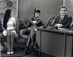 Yvonne Craig as Batgirl being interviewed on the Marv Phoenix Show...  http://www.yvonnecraig.com