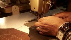 How to select a Sewing Machine for Making Leather Products, via YouTube.