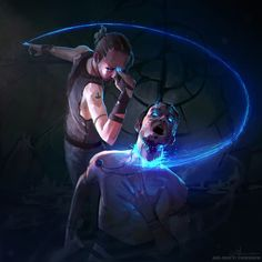 we-are-rogue: Cerebral Cleave by Ari-Matti Toivonen Cyberpunk, Fantasy World, Dark Fantasy, Fantasy Inspiration, Character Inspiration, Character Creation, Character Art, Fantasy Kunst, Fantasy Warrior