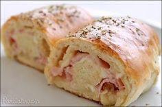 Pãozinho delícia é o que tem p/ hoje amados! Fácil de fazer, daqueles bem fofinhos,sacoé? Quando eu faço as vezes já recheio com vários sabores (carne moída, calabresa, presunto e queijo… e …
