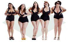 Women's Plus Size Swimwear & Beachwear Plus Size Bikini Bottoms, Women's Plus Size Swimwear, Trendy Swimwear, One Piece Swimwear, Womens Fashion Online, Latest Fashion For Women, Modelos Plus Size, Model Magazine, Real Women