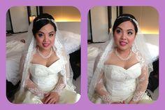 Wedding makeup- Irene