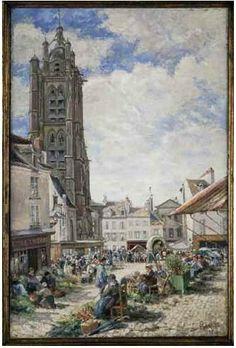 peinture église Ludovic Piette