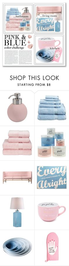 """""""PINK AND BLUE ♥"""" by emmas-fashion-diary ❤ liked on Polyvore featuring interior, interiors, interior design, home, home decor, interior decorating, Aquanova, Superior, philosophy and &Tradition"""