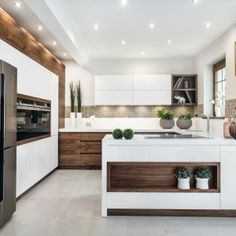 European kitchen cabinets inspiring kitchen design lately. European cabinets can be tailored with any kitchen designs. To help you design your kitchen. Kitchen Room Design, Kitchen Cabinet Design, Modern Kitchen Design, Home Decor Kitchen, Interior Design Kitchen, Home Kitchens, Kitchen Hardware, Kitchen Designs, European Kitchen Cabinets