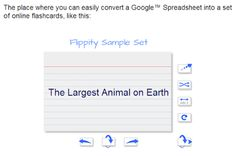 Free Technology for Teachers: Create Flashcards from Google Spreadsheets