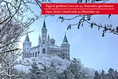 Just a beautiful picture of the castle im Winter.