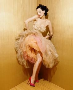 Dita - those shoes! that dress!