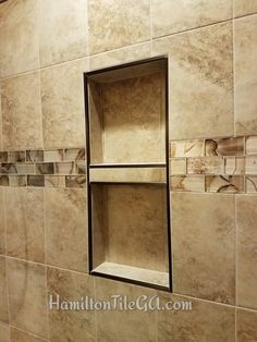 Soap Niche With The Oil Rubbed Bronze For Win Schluter Shower