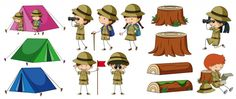 Buy Boyscouts And Camping Elements by interactimages on GraphicRiver. Boyscouts and camping elements illustration This image was created using Adobe Indesign Included in this package. Boys Camp, Scout Camping, Art Background, Boy Scouts, Vector Freepik, Vectors, Childhood, Activities, Adventure