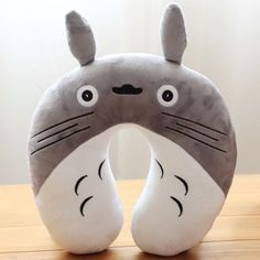 TOTORO TRAVEL BUDDY PILLOW U-shaped For On The Go Naps!