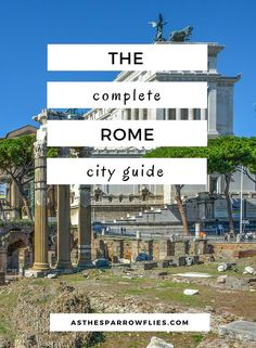 Rome | City Break Guide | European Travel | Italy Breaks ✈️✈️✈️ Don't miss your chance to win a Free Roundtrip Ticket to Rome, Italy from anywhere in the world **GIVEAWAY** ✈️✈️✈️ https://thedecisionmoment.com/free-roundtrip-tickets-to-europe-italy-rome/