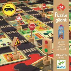 Djeco The city puzzle