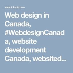 Web design in Canada, #WebdesignCanada, website development Canada, websitedevelopment #Canada, #Webdesign in #Canada, Web design in Toronto, website development Toronto, Web design in Montreal, website development Montreal, Web design in Vancouver, websi https://www.youtube.com/user/Customblogs/