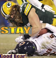 Clay Matthews sacks Bears quarterback Jay Cutler for a loss on Jan. Packers Baby, Go Packers, Green Bay Packers Fans, Packers Football, Football Season, Football Team, Greenbay Packers, Packers Seahawks, Packers Memes