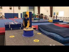 Pommel Horse Circuit - YouTube Boys Gymnastics, Gymnastics Coaching, Drills, Circuit, Preschool, Horses, Mini, Places, Youtube