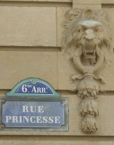 Rue Princesse - Paris 6e  ... lined with casual eateries and bars.    (CW17)