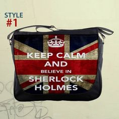Believe in Sherlock Holmes  Benedict Cumberbatch 14 by nerobags, $26.00