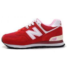 New Balance W574VDS 2012 red White Love Women Online