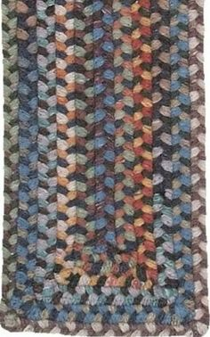 """13pc Braided Rug Stair Treads Classic Medley 8"""" x 2' 4"""" . $359.20"""
