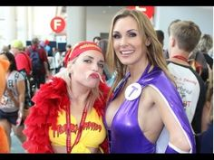 Sexy Tanya Tate Cosplayer at San Diego Comic Con 2014