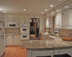 traditional kitchen white appliances design pictures remodel decor and ideas page 7 - Kitchen Remodel With White Appliances