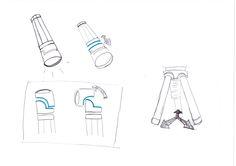Eine Taschenlampe mit itergrietem Stativ. Der Kopf kann sich in allen Richtungen bewegen. Der Griff lässt sich zu einem Stativ aufklappen.  Durch Schraubverschluss sind die Einzelteile bequem zu ersetzen. Das Stativ ist nach den Standards gerichtet und ist ebenso kompatibel mit einer Kamera.