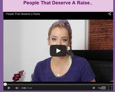 People That Deserve A Raise..